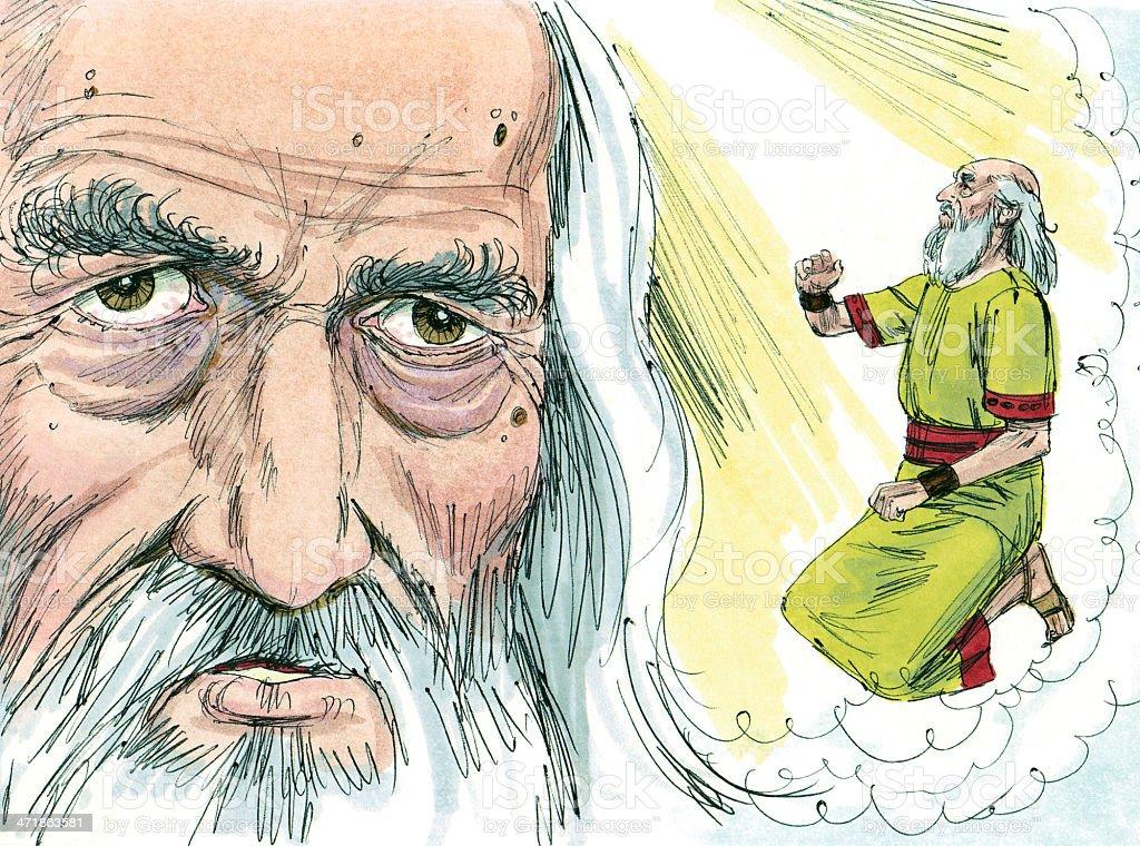 Samuel--God Speaks stock photo
