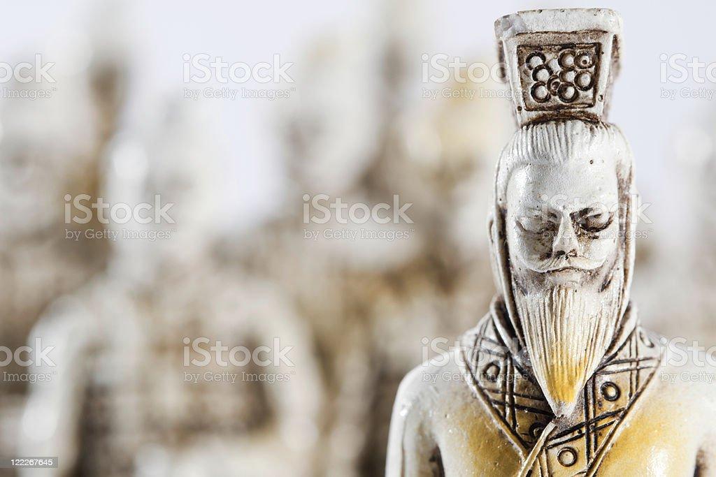 Samurai army royalty-free stock photo