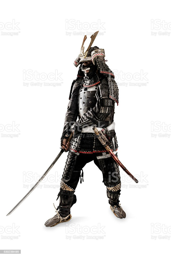 Samurai - Retouched stock photo