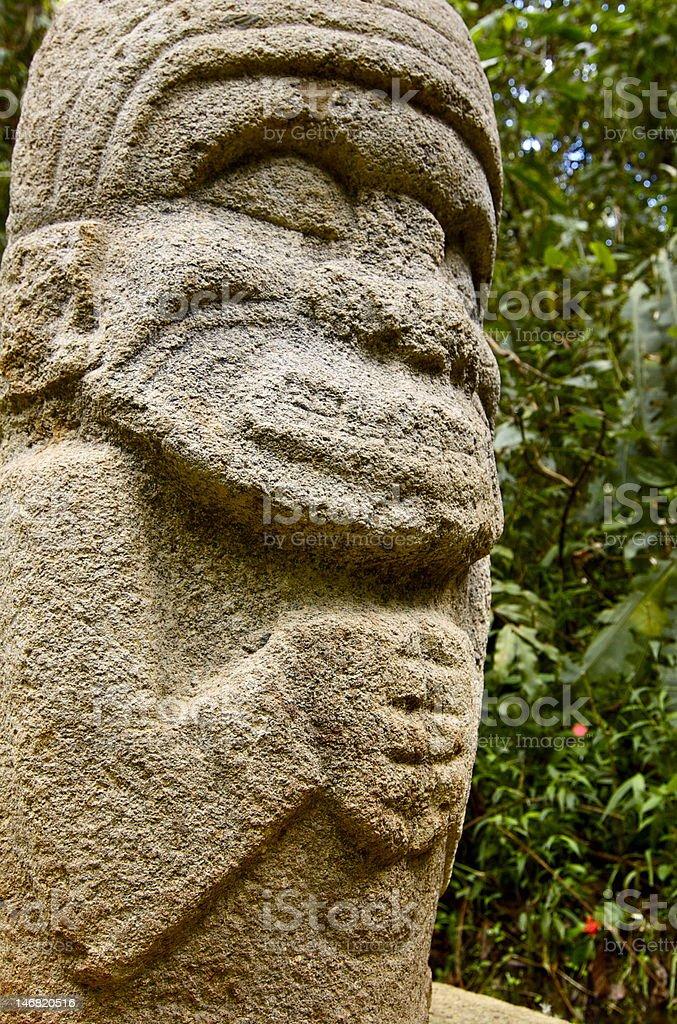 San Agustin Archaelogical Park - Colombia stock photo