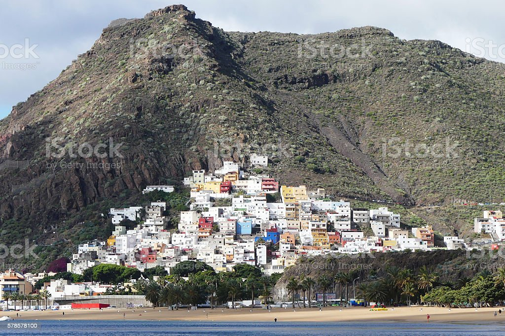 San Andres village,Tenerife stock photo