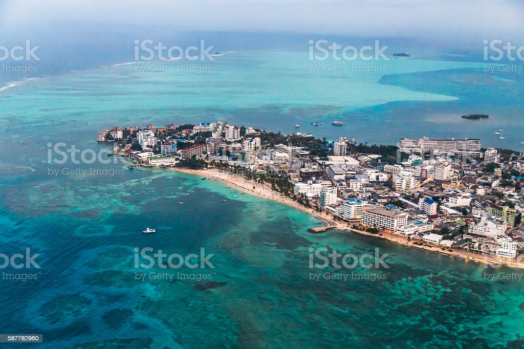 San Andrés stock photo