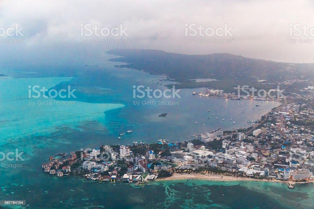 San Andrés stock photo