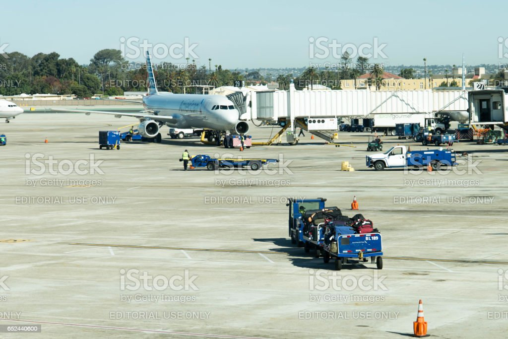 San Antonio airport stock photo