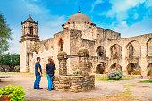 San Antonio Missions Mission San Jose Texas USA