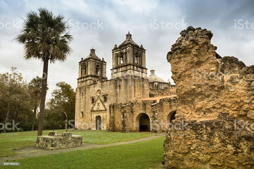 San Antonio Missions National Historical Park stock photo