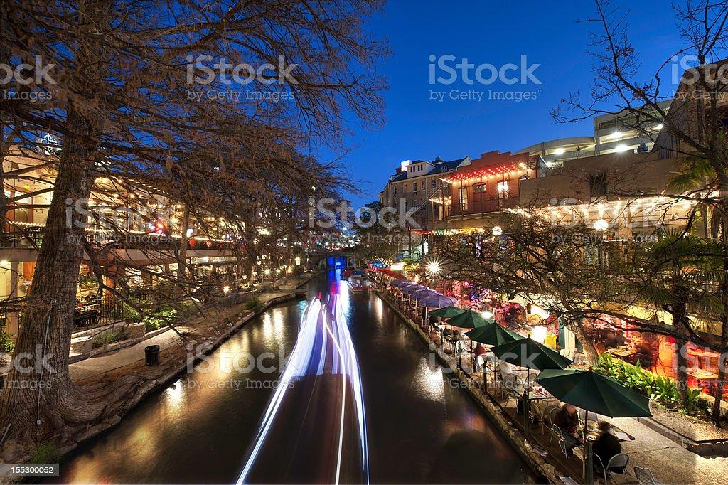 San Antonio Riverwalk royalty-free stock photo