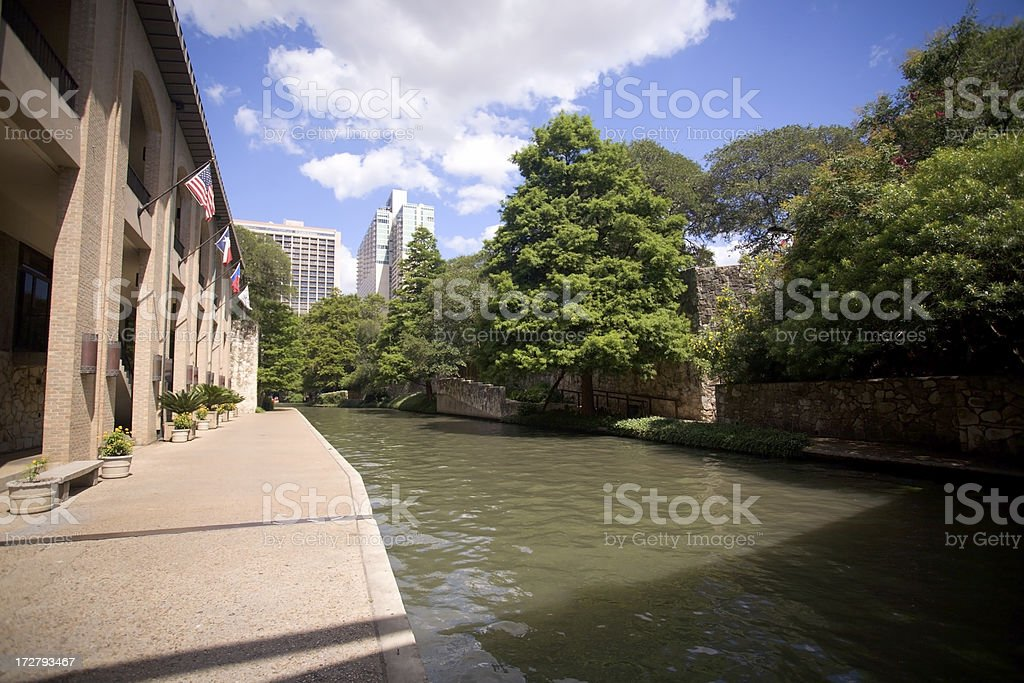San Antonio Riverwalk stock photo