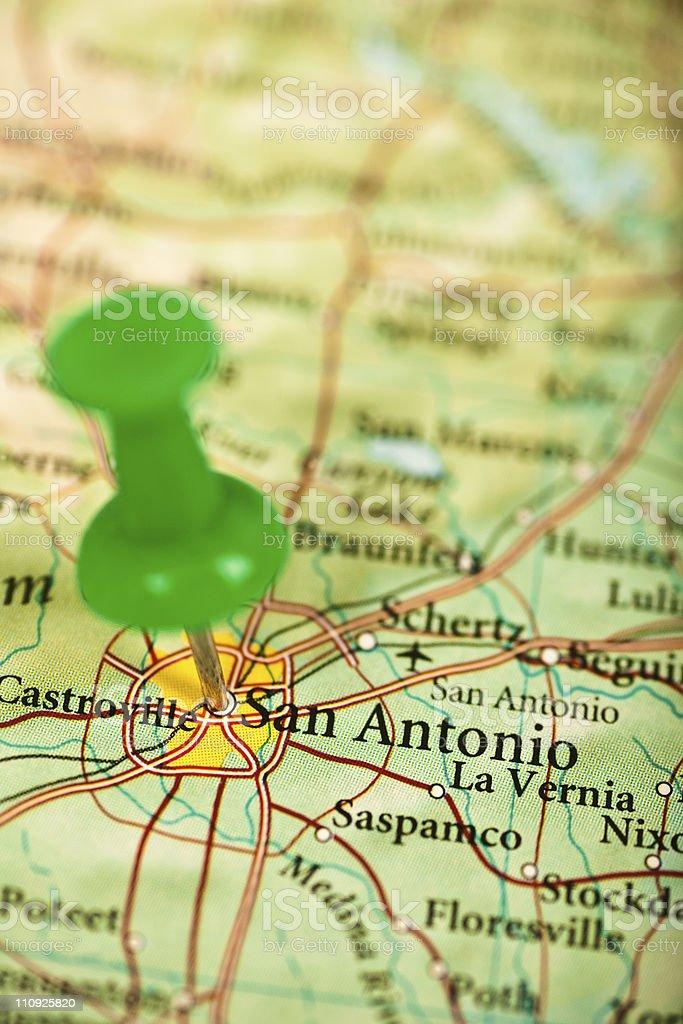 San Antonio, TX royalty-free stock photo