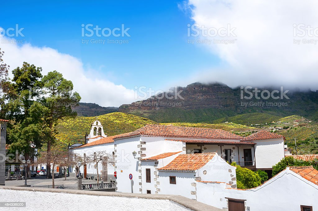 San Bartolome de Tirajana.  Gran Canaria. Spain stock photo