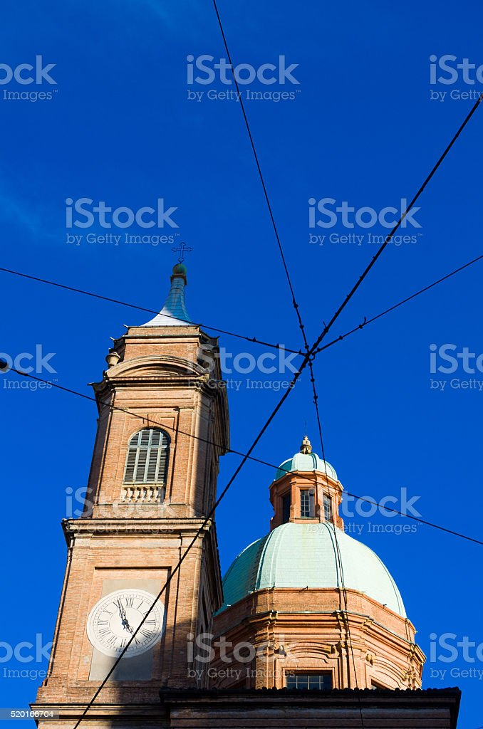 San Bartolomeo church, Bologna, Emilia Romagna, Italy stock photo