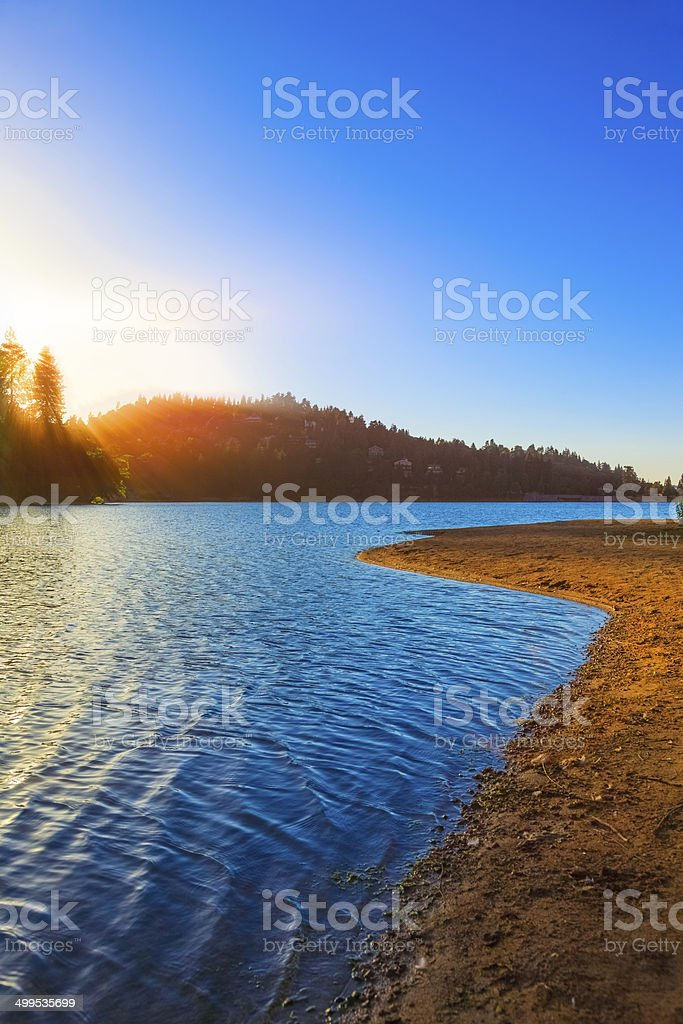 San Bernardino National Forest, CA stock photo