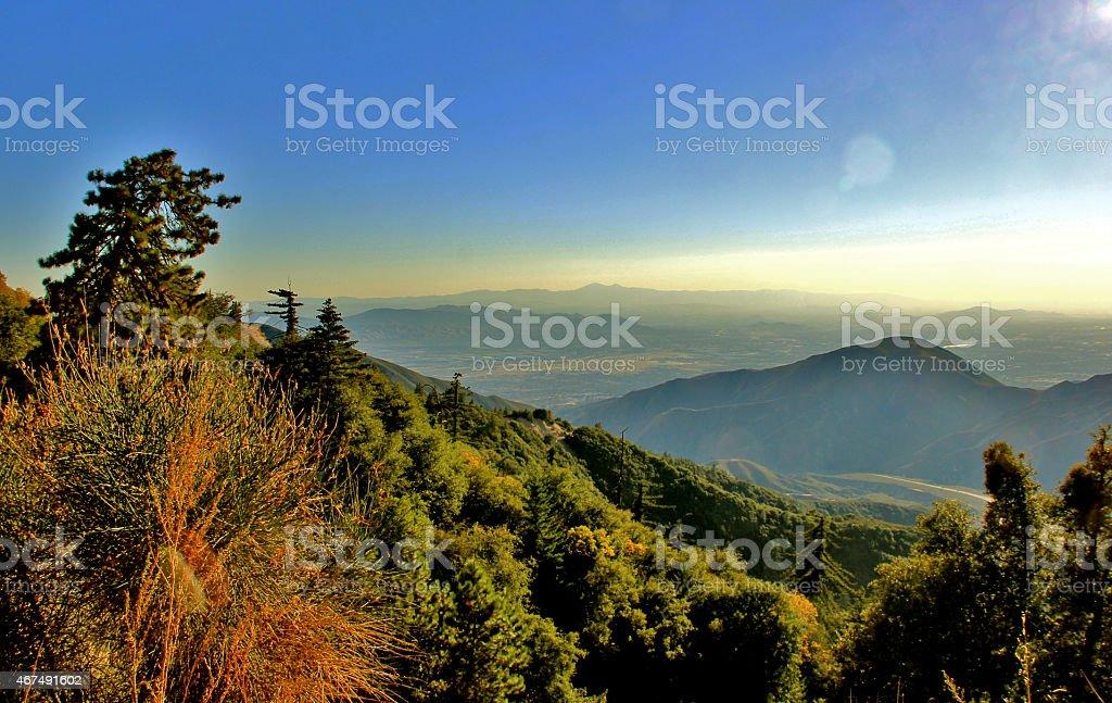 San Bernardino Valley stock photo