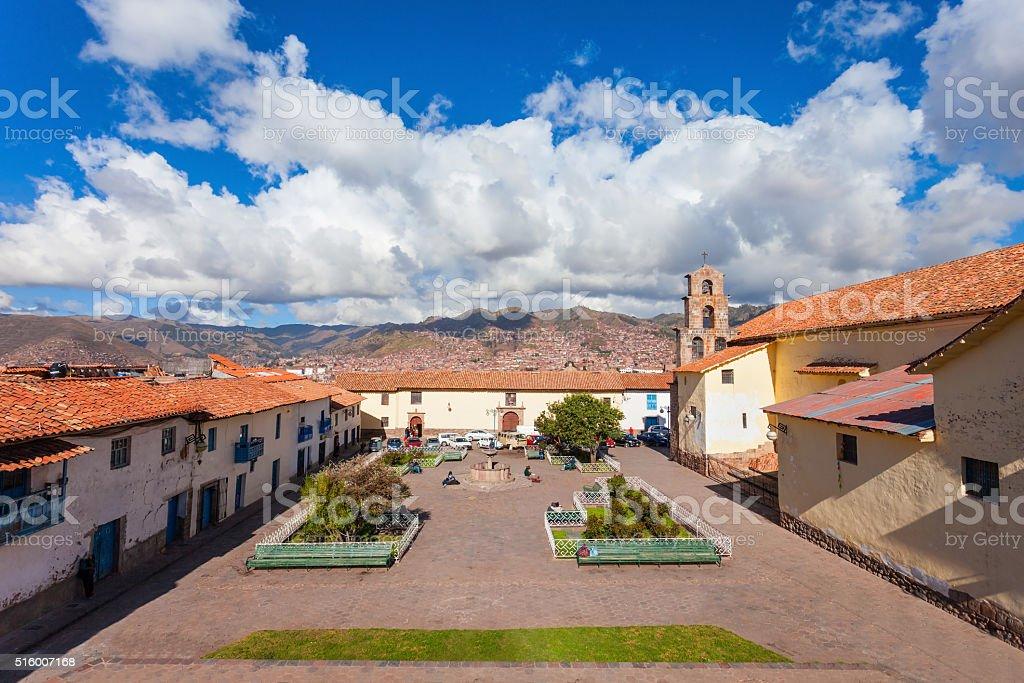 San Blas, Cusco stock photo