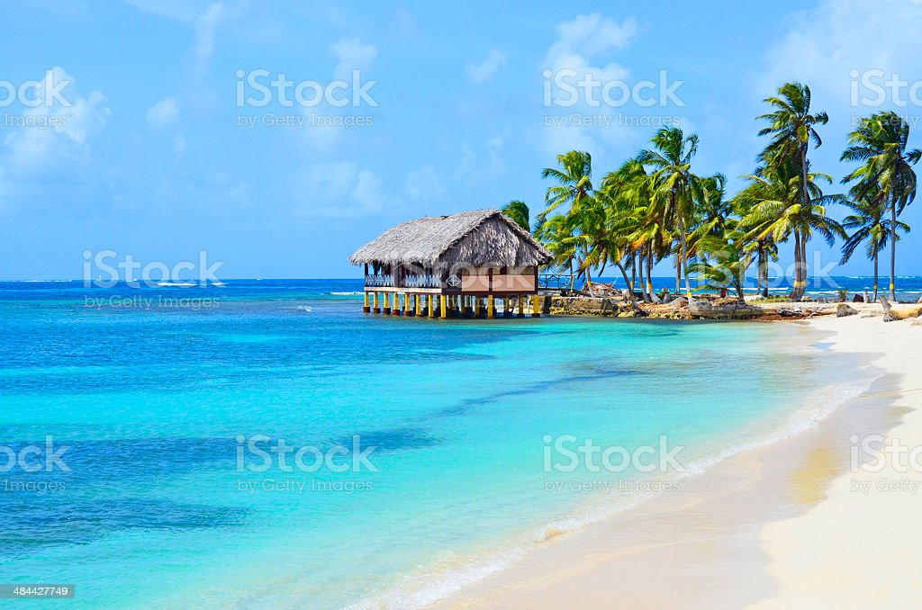 San Blas Islands Panama stock photo