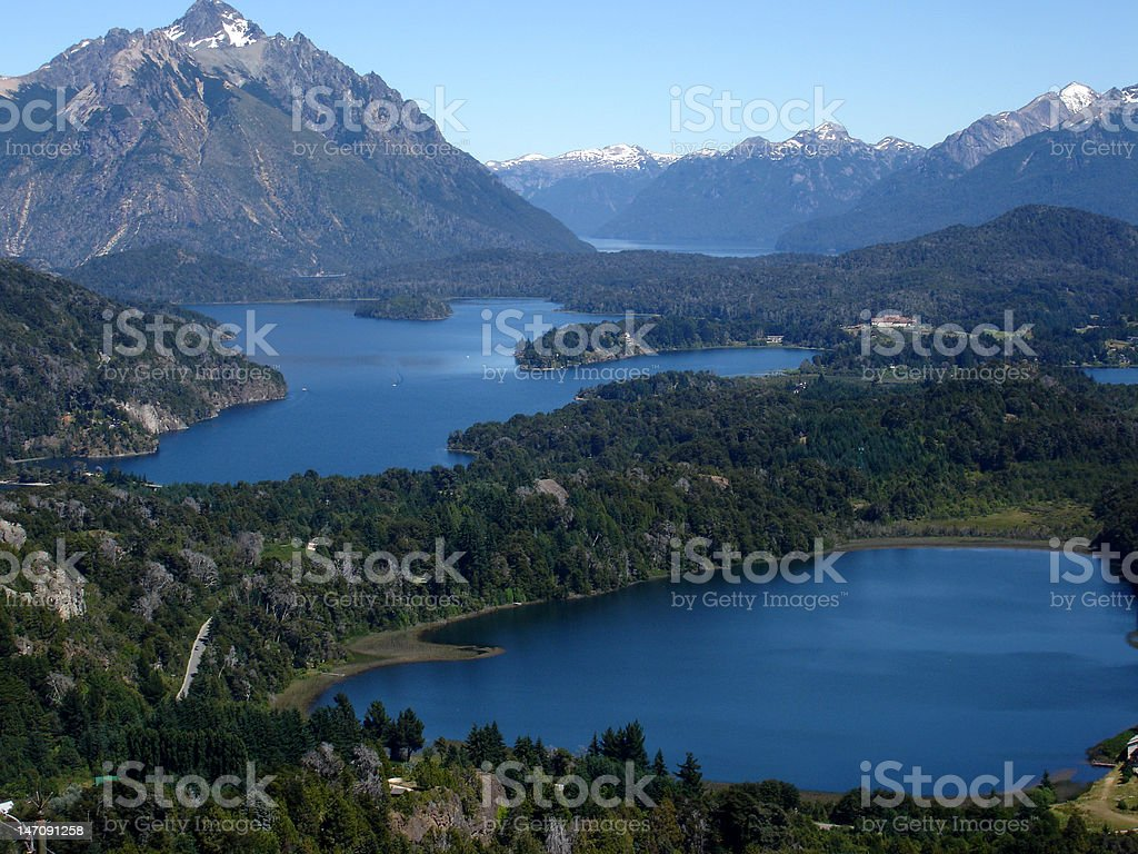 San Carlos de Bariloche, Argentina stock photo