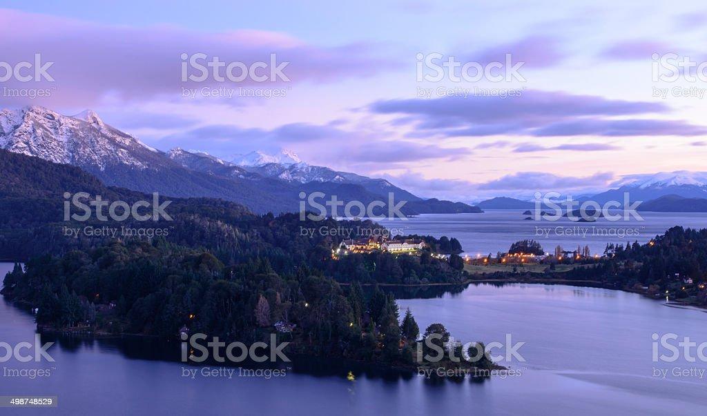 San Carlos de Bariloche, Argentina royalty-free stock photo