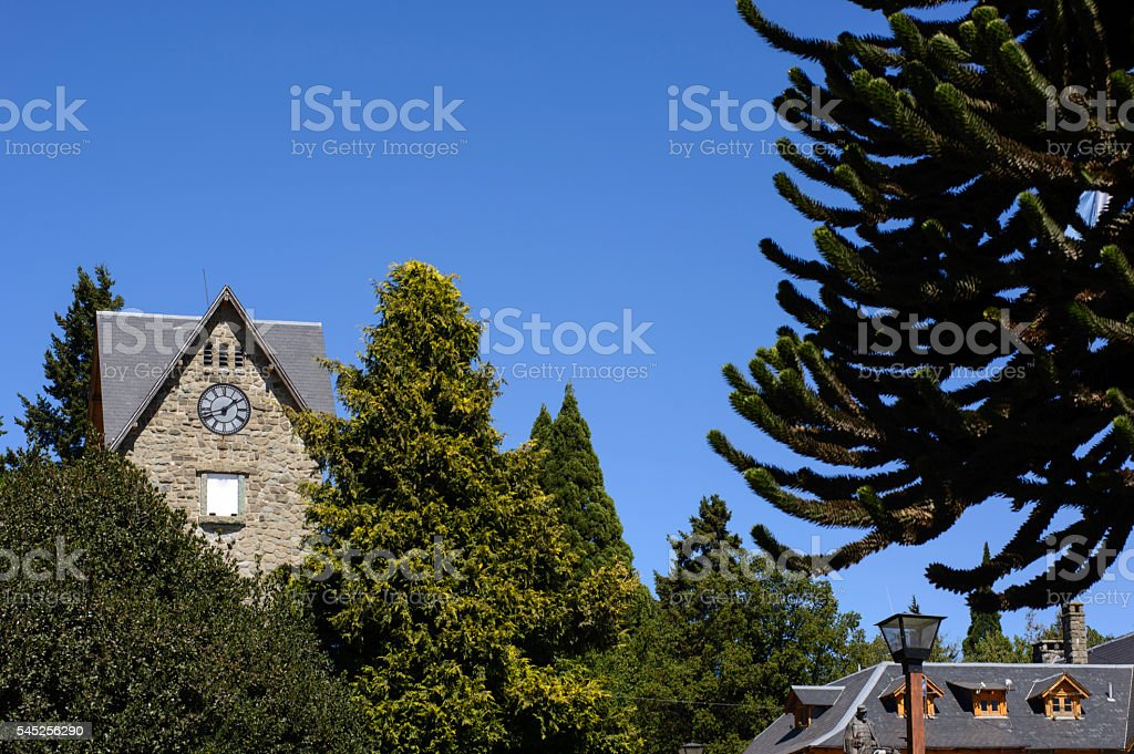 San Carlos de Bariloche, Centro Civico stock photo
