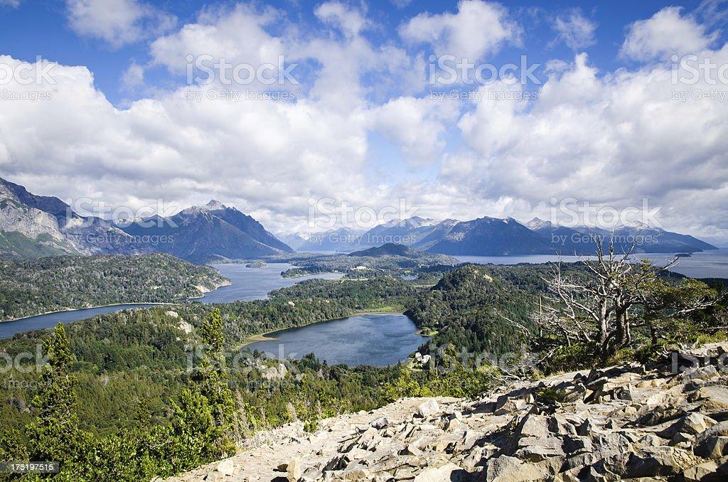 San Carlos de Bariloche stock photo