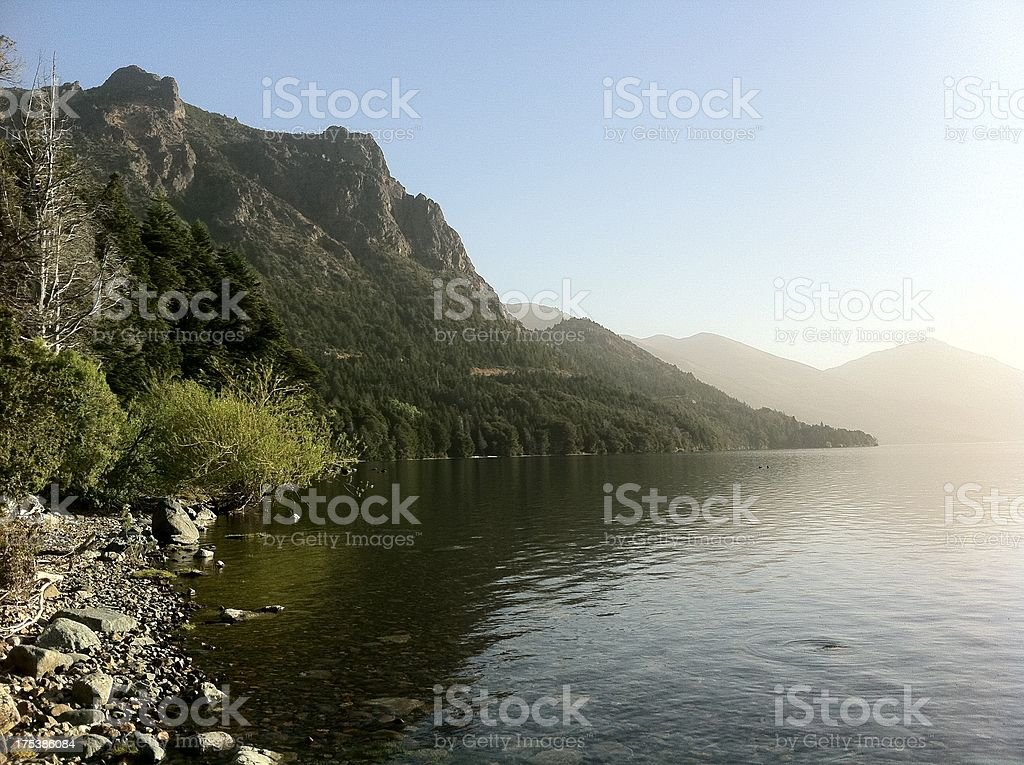 San Carlos De Bariloche royalty-free stock photo