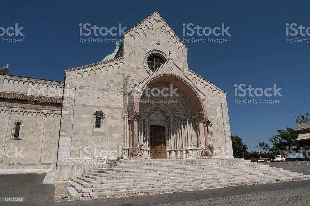 San Ciriaco Cathedral stock photo