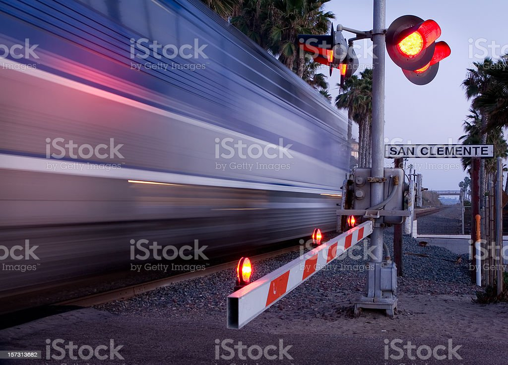 San Clemente Train stock photo