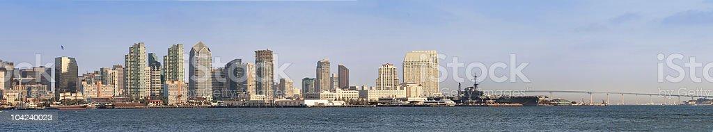San Diego Bay royalty-free stock photo