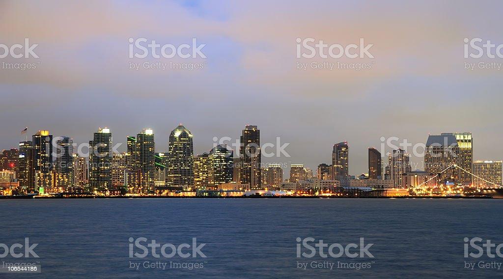 San Diego Bay stock photo