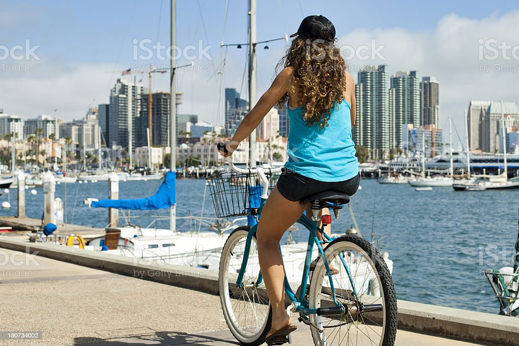 San Diego Bike Ride royalty-free stock photo