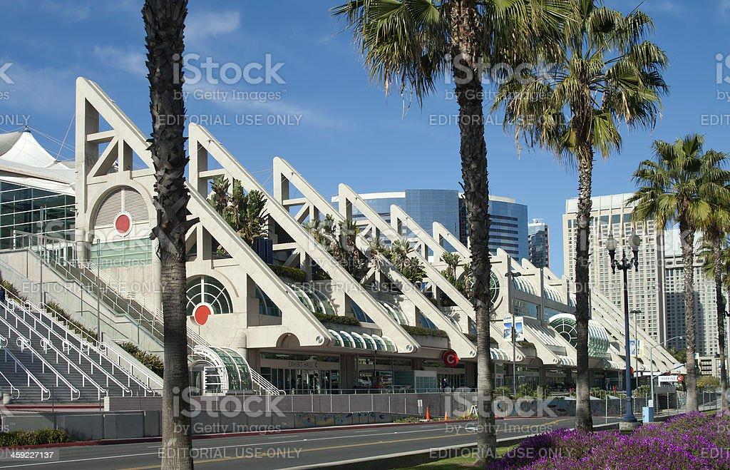 San Diego California Convention Center stock photo