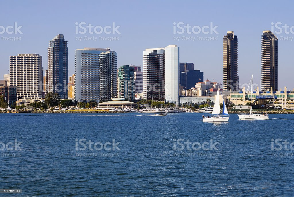 San Diego California stock photo