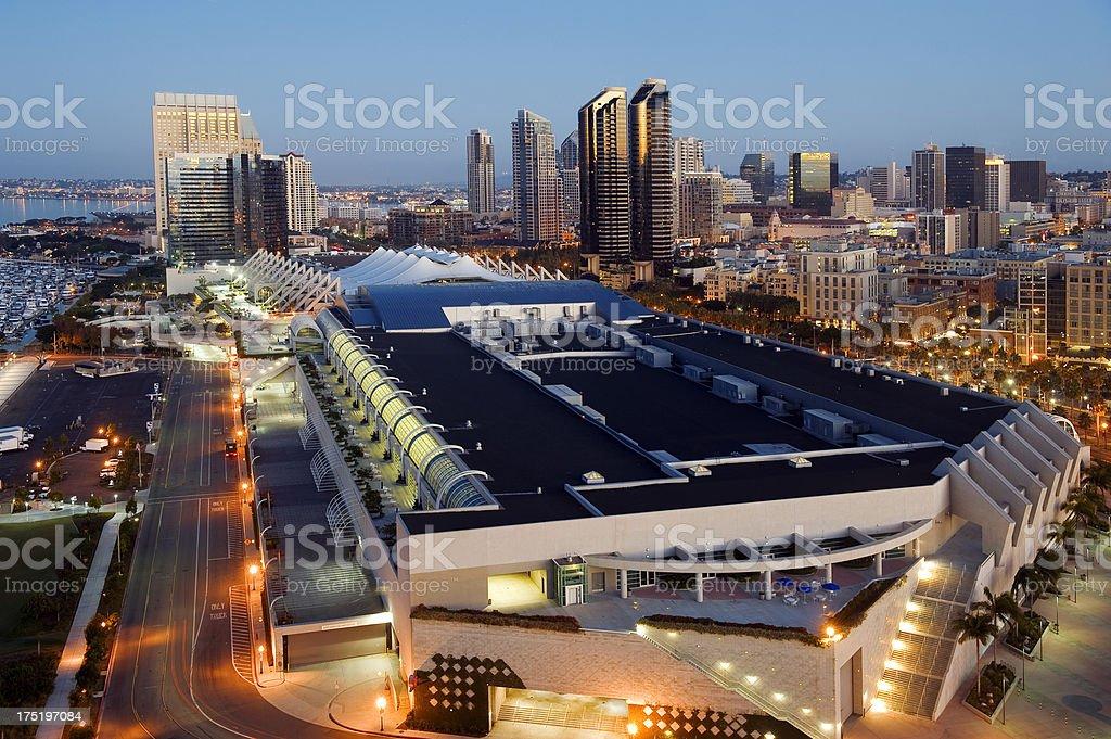 San Diego City stock photo