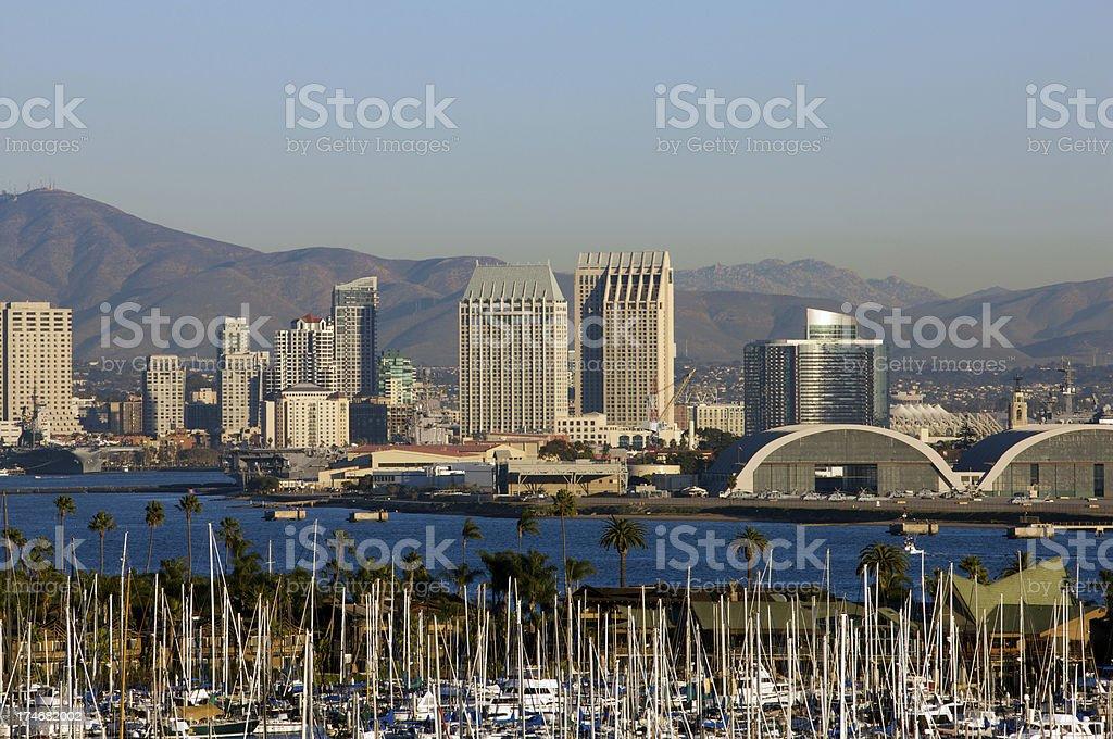 San Diego Cityscape stock photo