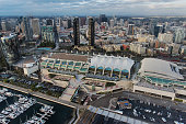 San Diego Convention Center Aerial
