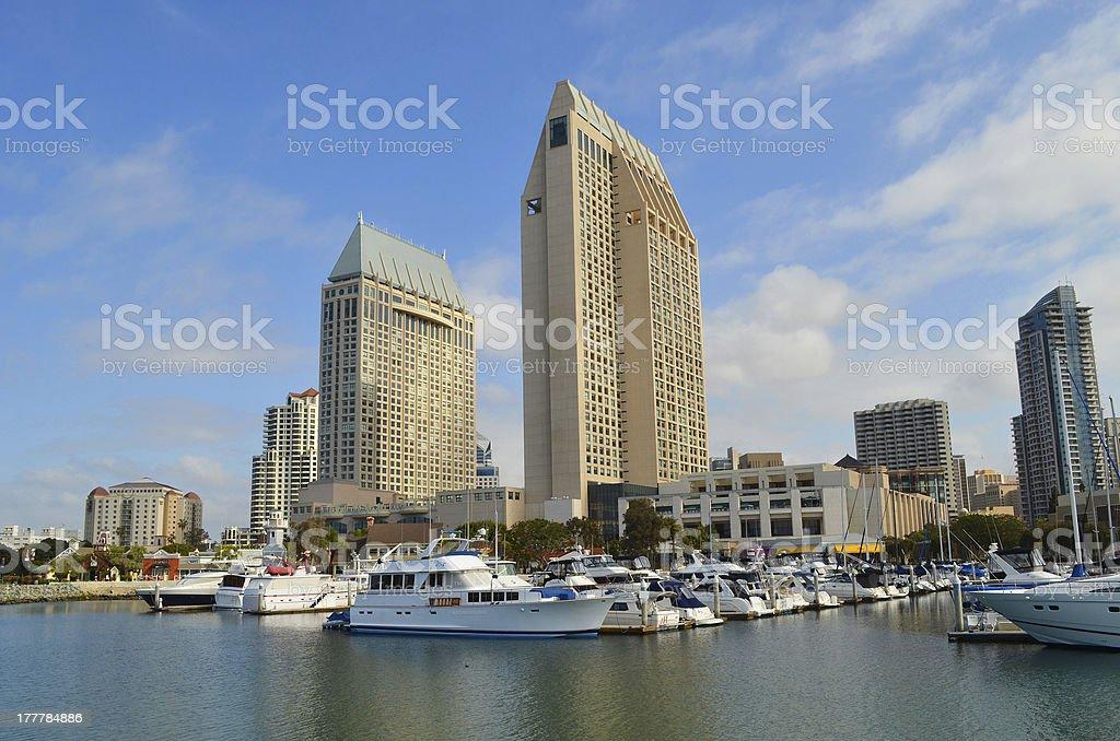 San Diego Harbor royalty-free stock photo