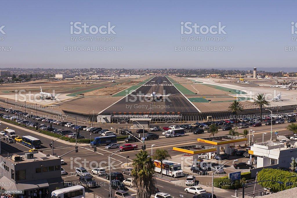 San Diego International Airport royalty-free stock photo