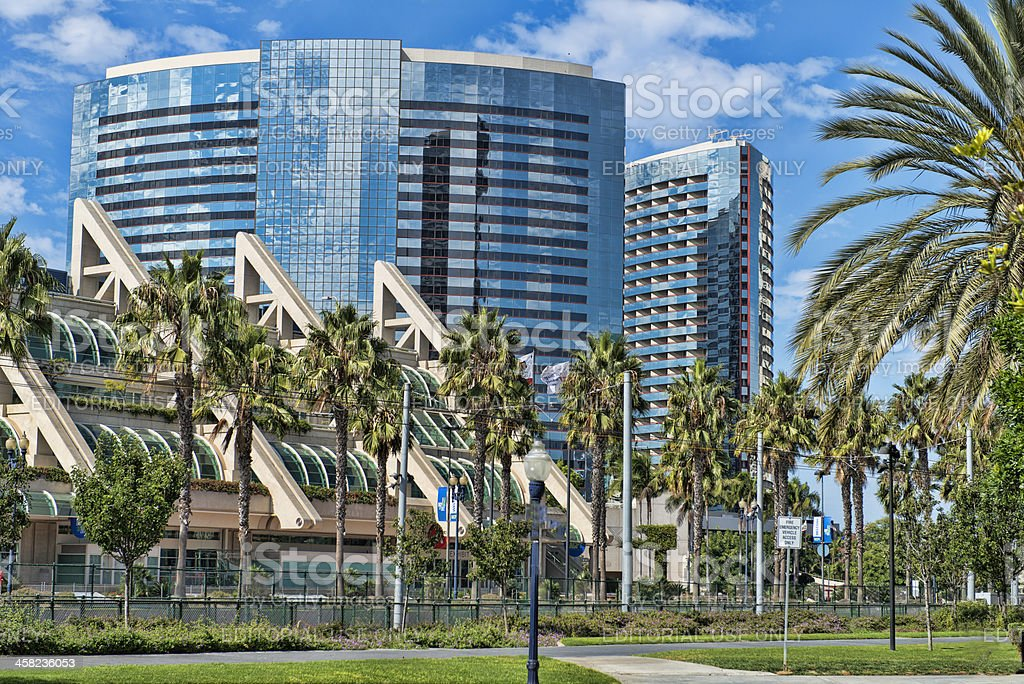 San Diego Marriott Marquis Marina and Convention Center stock photo