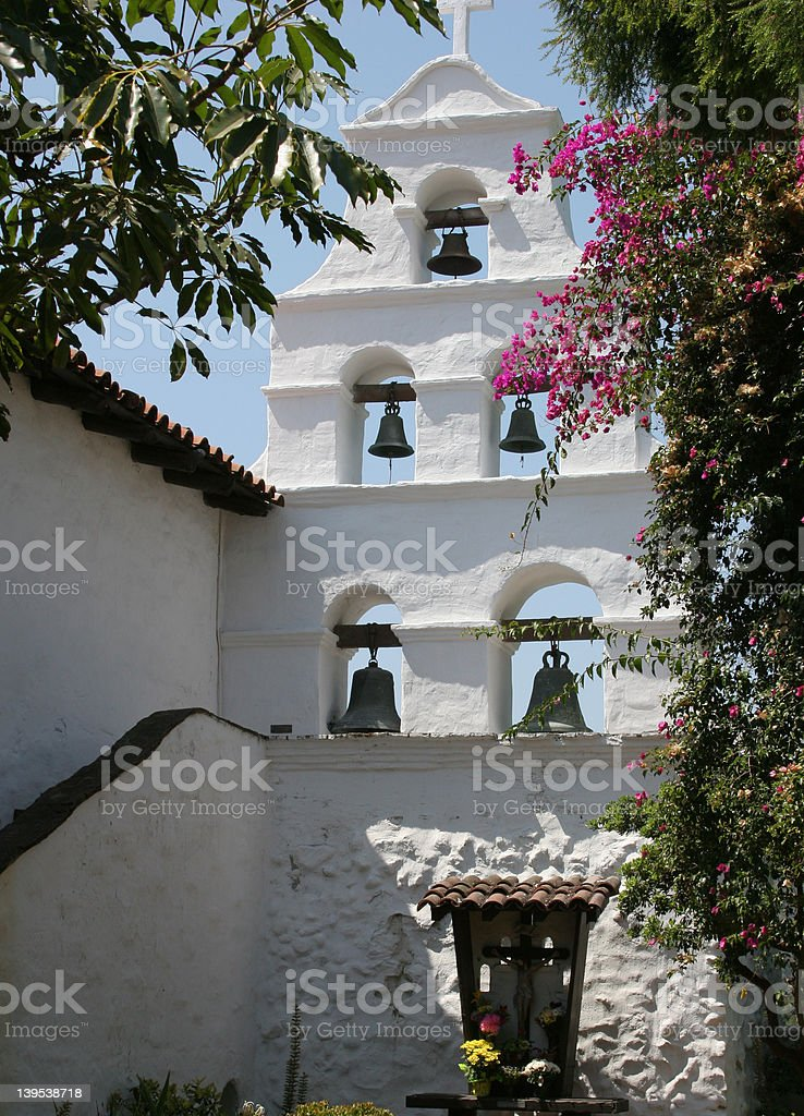San Diego Mission stock photo