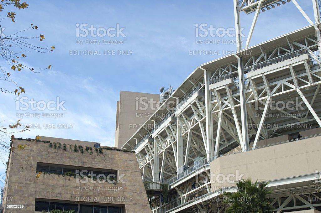 San Diego Padres Ball Park stock photo