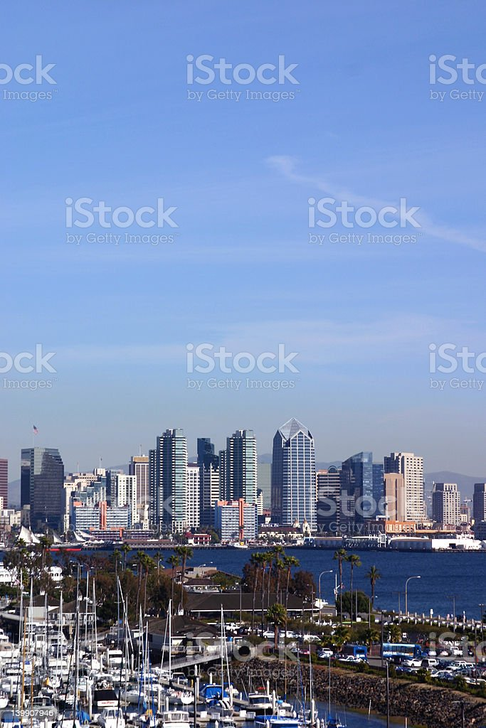 San Diego royalty-free stock photo