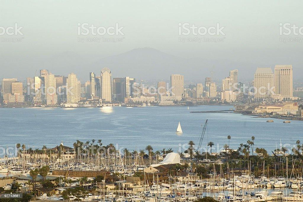 San Diego Skyline - Day stock photo