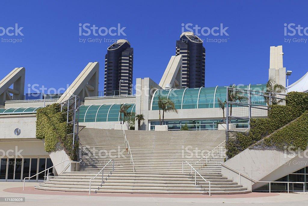 San Diego skyline  (P) stock photo