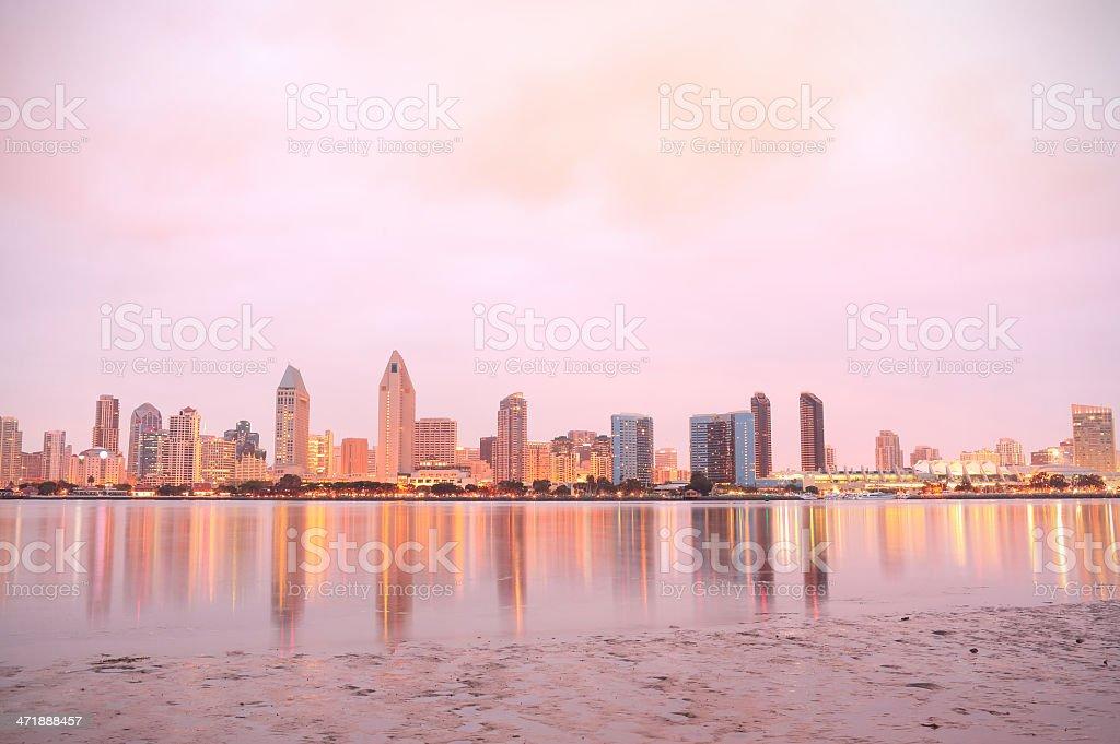 San Diego: Skyline royalty-free stock photo