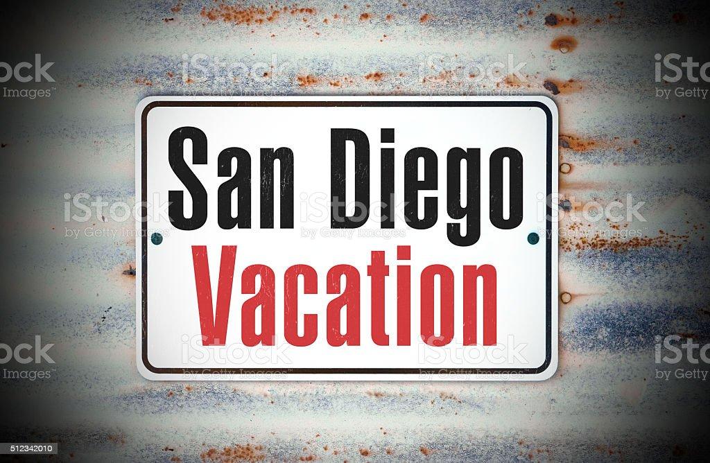 San Diego Vacation stock photo