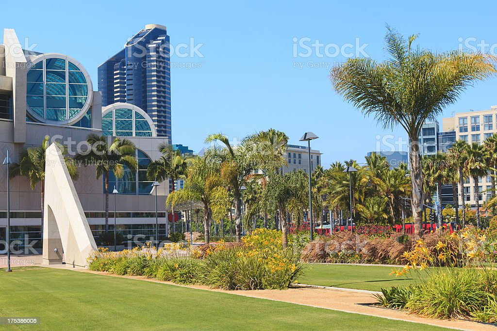 San Diego's Convention Center's Beauty (P) stock photo