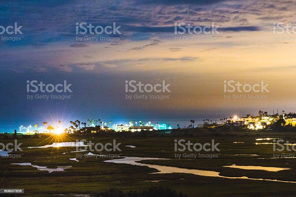 San Elijo stock photo
