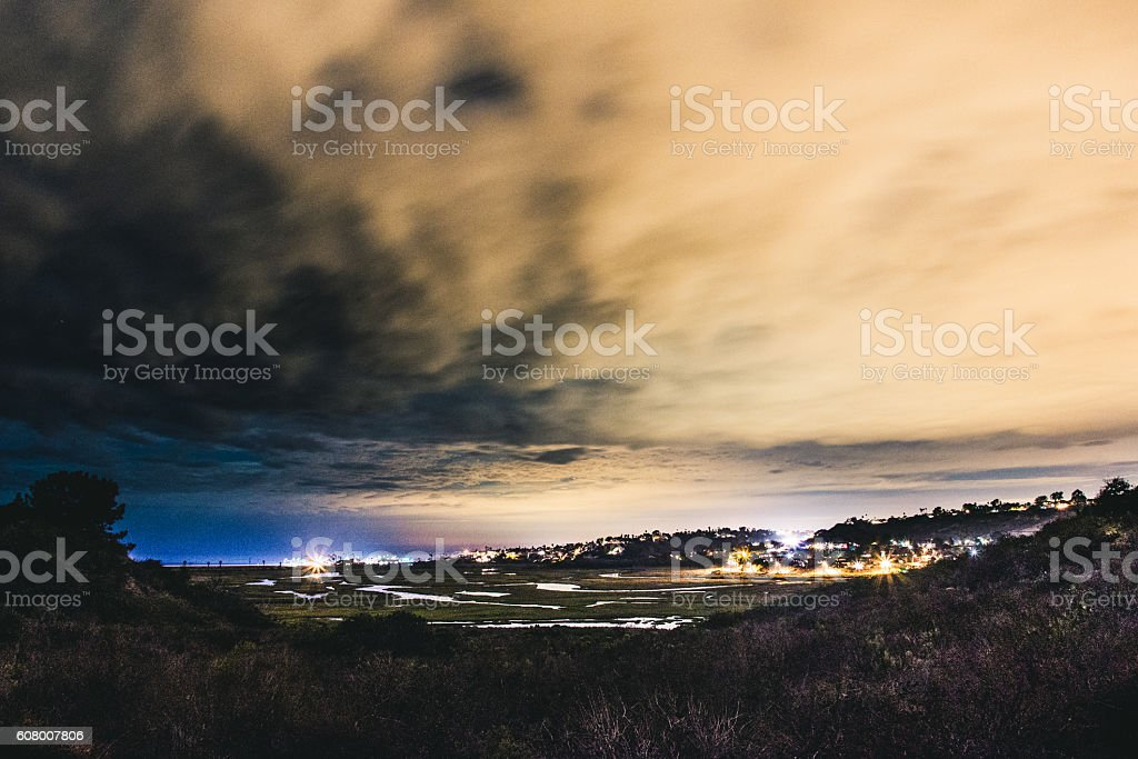 San Elijo stock photo