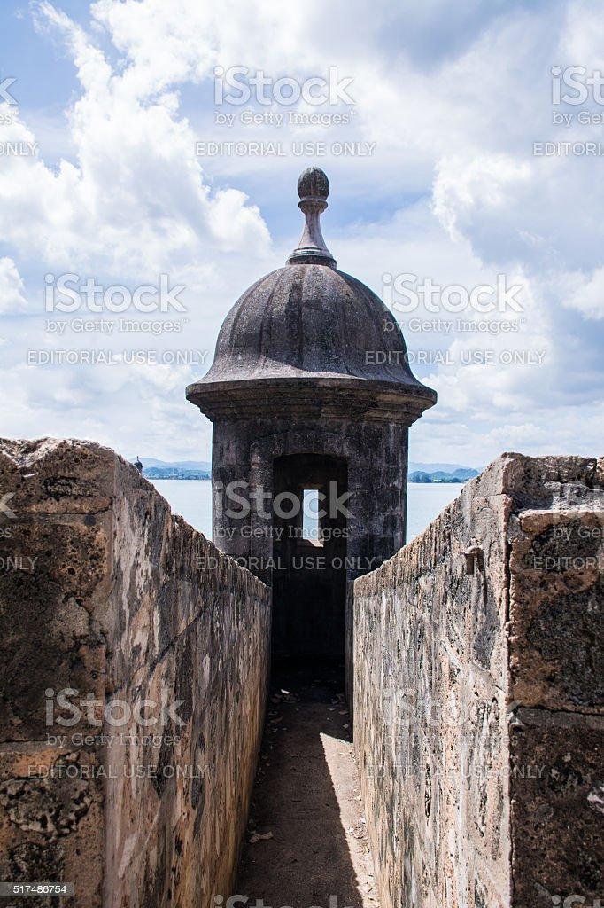 San Felipe del Morro castle stock photo