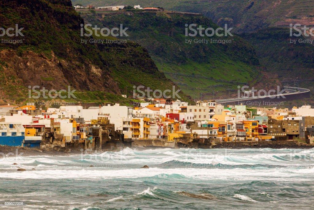 San Felipe panorama stock photo