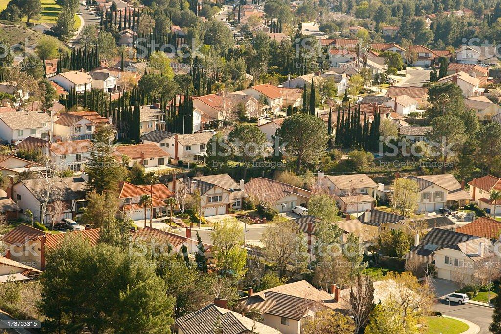 San Fernando Valley royalty-free stock photo